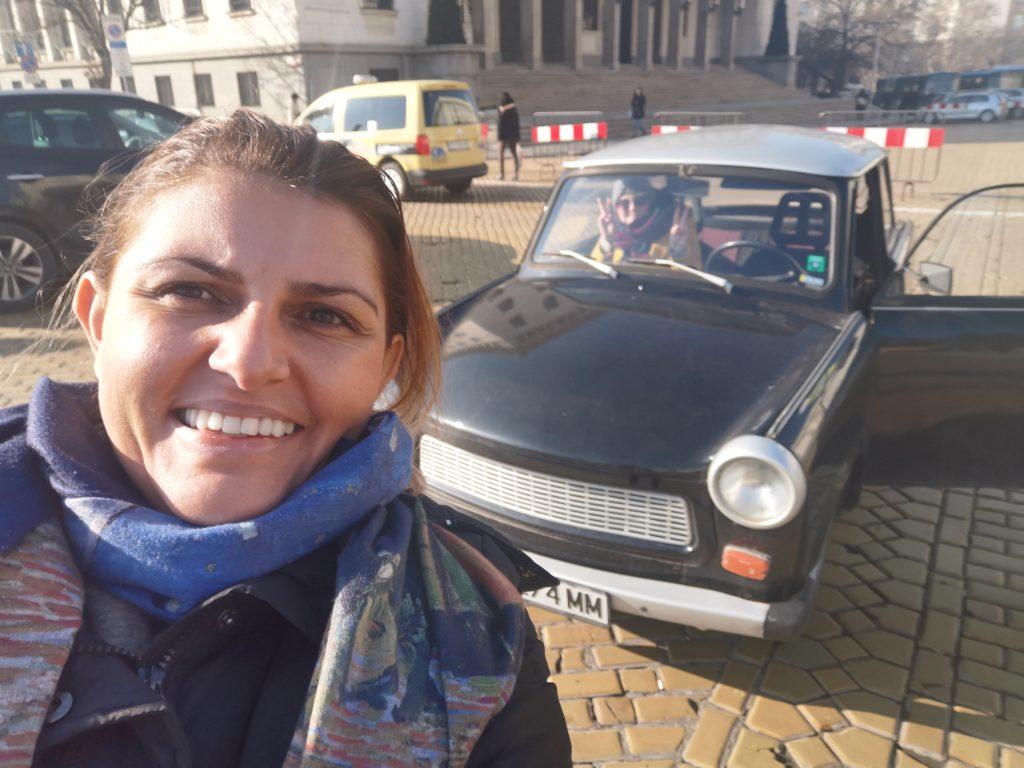Sofia Communist Tour Trabant car