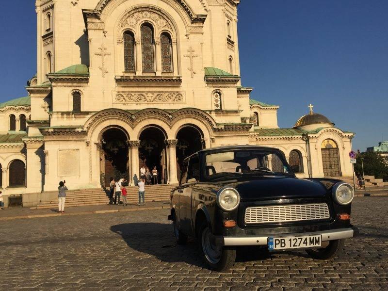 The legendary Trabant