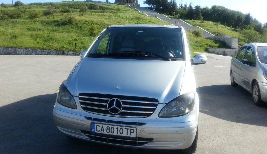 Our vehicles - Mercedes Viano